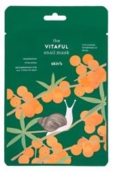 Skin79 Snail Mask VITAFUL Odżywczo-rewitalizująca maska w płachcie 20ml