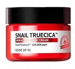 SomeByMi SNAIL TRUECICA Miracle Reapair Cream Rewitalizujący krem z mucyną czarnego ślimaka 60g
