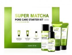 SomeByMi SUPER MATCHA Pore Care Starter Kit Zestaw mini produktów na rozszerzone pory