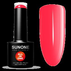 SunOne ALL IN ONE Lakier hybrydowy C02 5ml