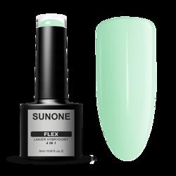 SunOne FLEX 4in1 Lakier hybrydowy Green 100 5ml