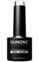 SunOne GELI BASE Baza do paznokci 5ml