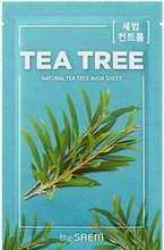 The SAEM Natural Sheet Mask Maska w płachcie Tea Tree 21ml