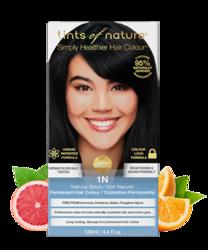 Tints of Nature Farba do włosów 1N Naturalna czerń