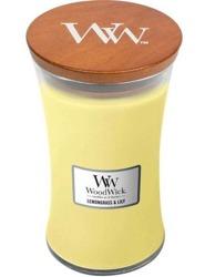 WoodWick świeca duża Lemongrass&Lily 610g