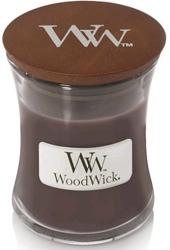 WoodWick świeca mała Sueded Sandalwood 85g