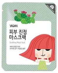 YADAH Soothing Mask Pack  Nawilżająca maseczka z opuncją 25g