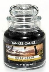 Yankee Candle Black coconut Świeca zapachowa słoik mały 104g