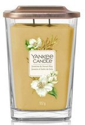 Yankee Candle Elevation świeca duża Jasmine&Sweet Hay 552g