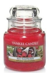Yankee Candle Red raspberry Świeca zapachowa słoik mały 104g