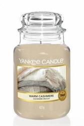 Yankee Candle Słoik duży Warm Cashmere 623g