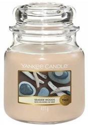Yankee Candle Świeca zapachowa Słoik średni Seaside Woods 411g