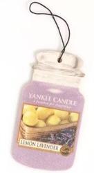 Yankee Candle car jar Odświeżacz samochodowy Lemon Lavender 1 szt.