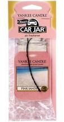 Yankee Candle car jar - Odświeżacz samochodowy Pink sands 1szt