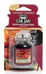 Yankee Candle car jar Ultimate Odświeżacz samochodowy Zawieszka słoik Black Cherry 1szt.