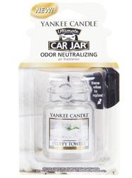 Yankee Candle car jar Ultimate  - Odświeżacz samochodowy Zawieszka słoik Fluffy Towels 1szt.