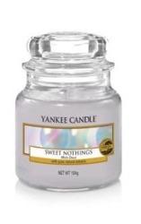 Yankee Candle słoik mały Sweet Nothings 104g