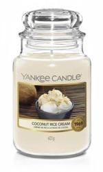Yankee Candle świeca słoik duży Coconut Rice Cream 623g