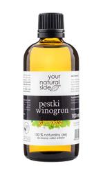 Your Natural Side Olej z pestek winogron 100% naturalny 100ml