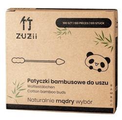 ZUZII Bambusowe patyczki do uszu 100szt