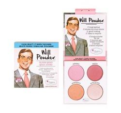 theBalm Will Powder Blush Quad Paleta róży do policzków 10g
