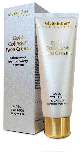Glyskincare Gold Collagen Face Cream Kolagenowy Krem Do Twarzy Ze Zlotem I Kawiorem 50ml