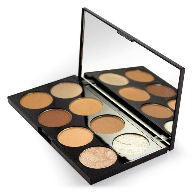 Makeup Revolution Ultra Contour Palette Medium Dark Paleta ...