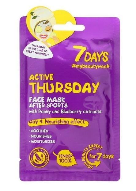 7Days maska do twarzy Active Thursday 28g