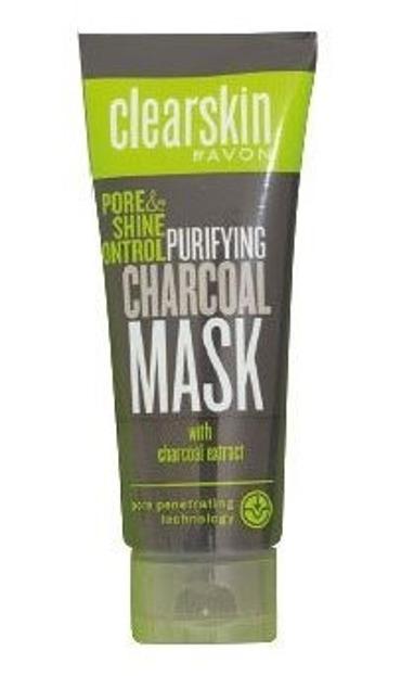 AVON Clearskin Maska oczyszczająca pory WĘGIEL AKTYWNY 75ml