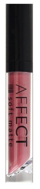 Affect Liquid Lipstick Soft Matte Cotton Candy Matowa pomadka w płynie