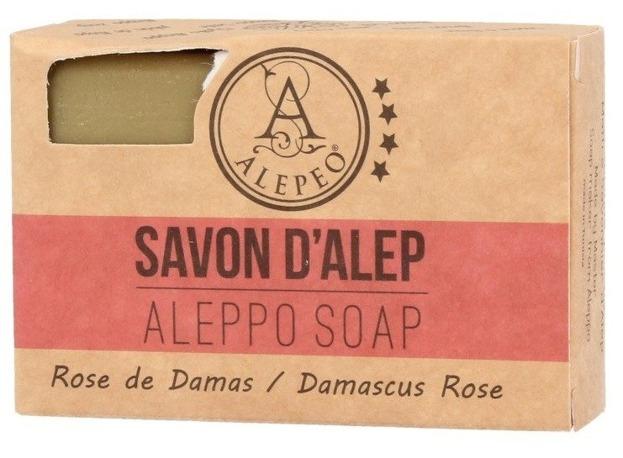 Alepeo Aleppo Soap Rose De Damas Naturalne mydło Aleppo 100g