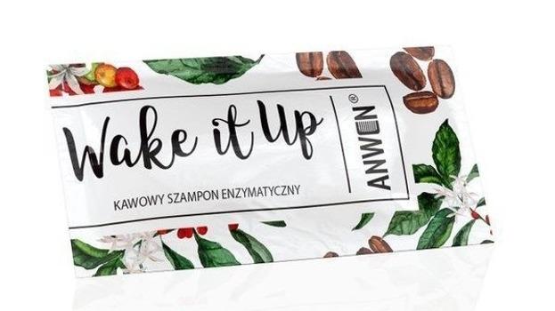 Anwen Wake It Up Szampon Kawowy enzymatyczny SASZETKA 10ml