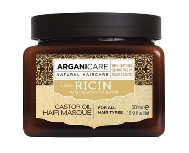 ArganiCare Hair Masque CASTOR Maska do włosów z olejem rycynowym 500ml