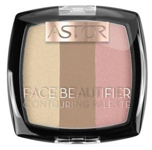 Astor Face Beautifier Paletka do konturowania 002 Medium