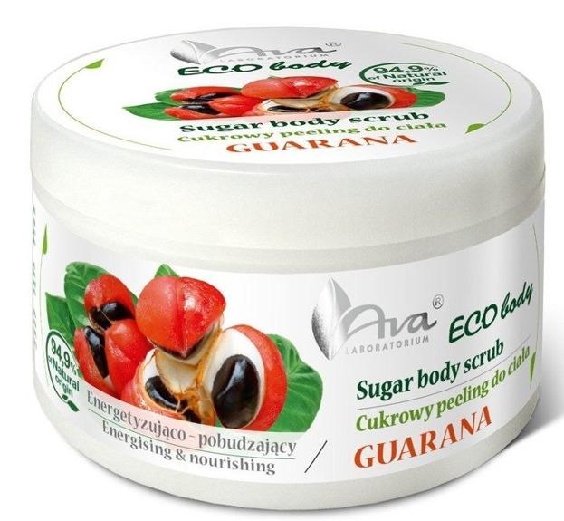 Ava ECO Body peeling cukrowy Guarana 250g
