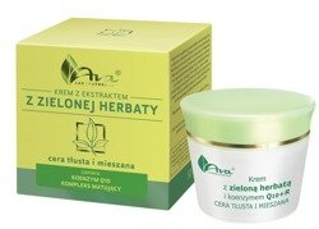 Ava Krem z ekstraktem z zielonej herbaty do cery mieszanej i tłustej 50ml