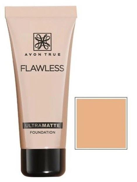 Avon Flawless ULTRAMATTE Podkład matujący NATURAL BEIGE 30ml