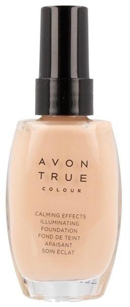 Avon True Colour Podkład rozświetlająco-antystresowy ALMOND 30ml