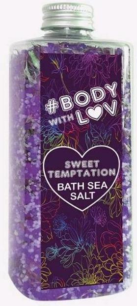 BODY WITH LOVE sól morska SWEET TEMPTATION 500g