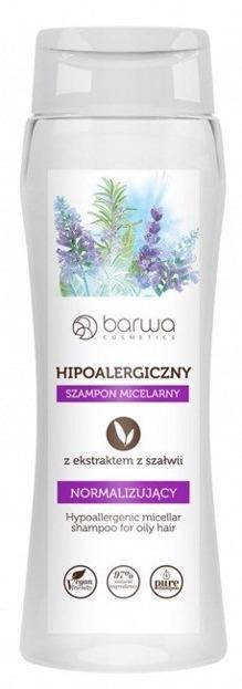 Barwa Hipoalergiczny szampon micelarny Normalizujący z ekstraktem z szałwii 250ml