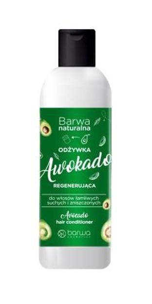 Barwa Naturalna Regenerująca odżywka do włosów Awokado 200ml