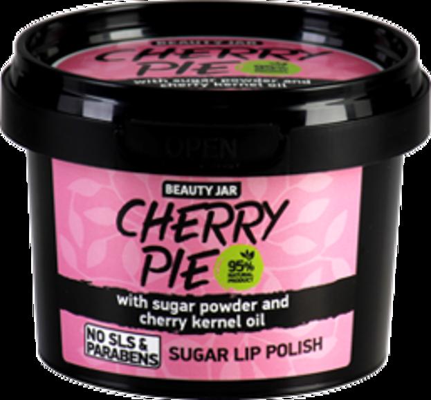 Beauty Jar Cukrowy peeling do ust Cherry Pie 90g