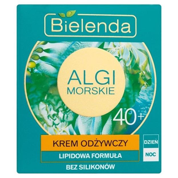 Bielenda Algi Morskie Krem odżywczy do twarzy 40 + 50ml