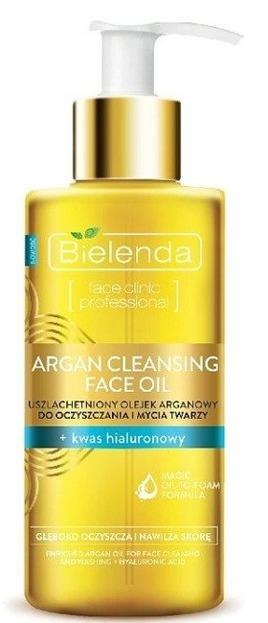Bielenda Argan Cleansing Face Olejek do twarzy + kwas hialuronowy 140ml