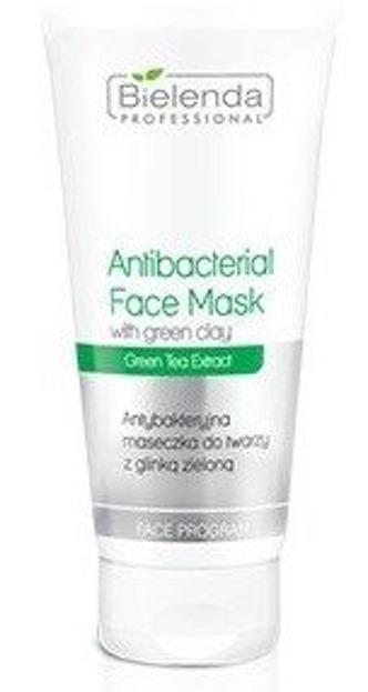 Bielenda Professional - Antybakteryjna maseczka do twarzy z zieloną glinką 175 ml