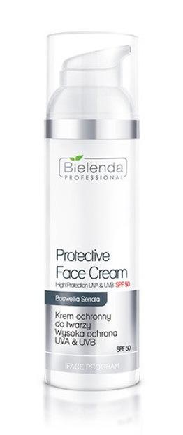 Bielenda Professional Krem ochronny do twarzy Wysoka ochrona z filtrem przeciwsłonecznym SPF50 UVA/UVB 100ml