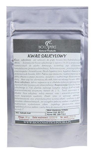 Biocosmetics- Kwas salicylowy, 30g