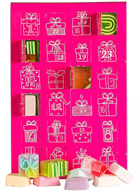 Bomb Cosmetics Kalendarz Adwentowy Różowy