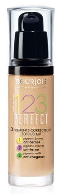 Bourjois 123 Perfect Foundation - Korygujący podkład do twarzy, 51 Light Vanilla