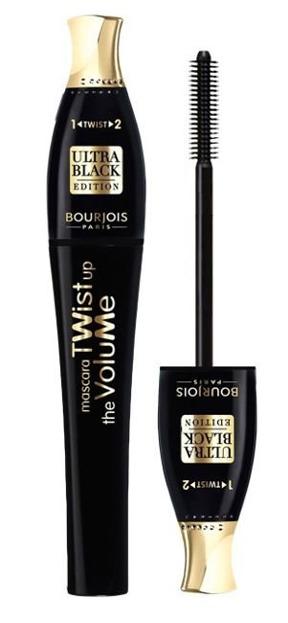 Bourjois Mascara Twist up the Volume 52 Ultra Black, tusz do rzęs